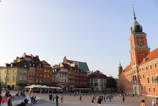 Vieille ville Varsovie