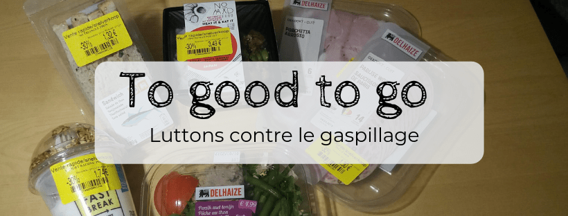 Luttons contre le gaspillage alimentaire avec l'application Too Good To Go