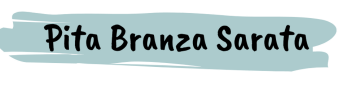 Pita Branza Sarata