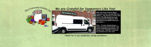 With the help of our wonderful supporters we were able to purchase a new van.