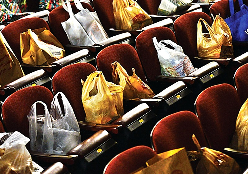 Help Fill The Seats Of The Colonial With Canned Food and Groceries