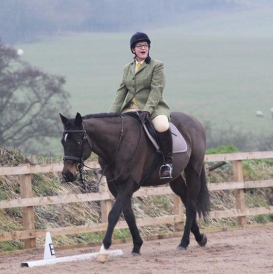 Dressage horse riding lessons