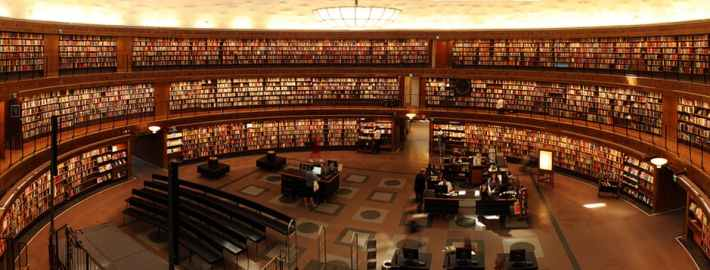 Go into book stores and libraries to help plan for your publishing deal.