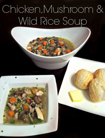 Chicken, Mushroom, and Wild Rice Soup ~ The Complete Savorist