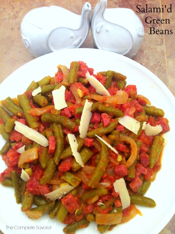 Salami'd Green Beans ~ The Complete Savorist