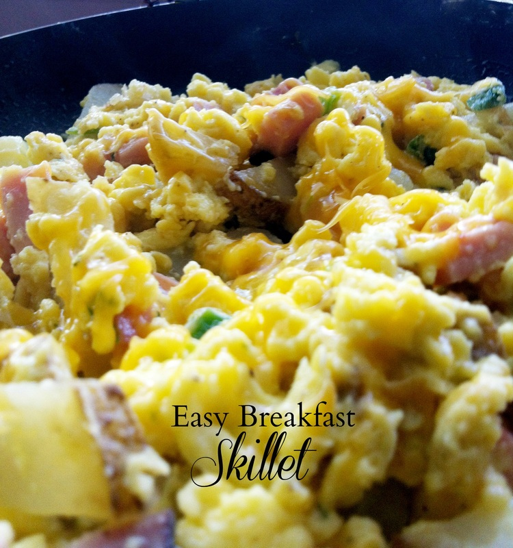 Easy Breakfast Skillet ~ The Complete Savorist