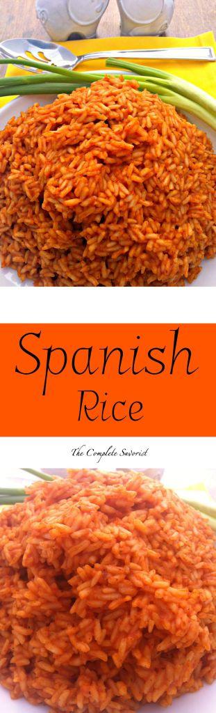 Spanish Rice ~ The Complete Savorist