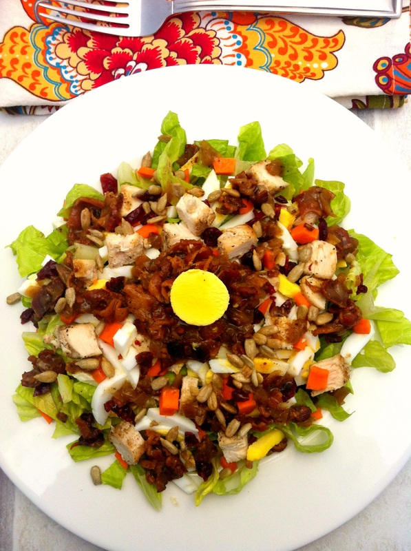 High Protein Salad ~ The Complete Savorist