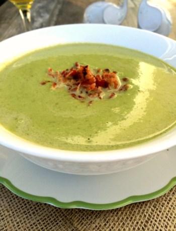Creamy Asparagus Soup ~ The Complete Savorist