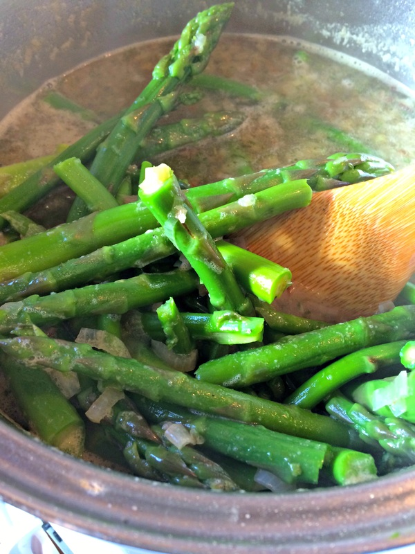 Cooking the Asparagus Creamy Asparagus Soup ~ The Complete Savorist