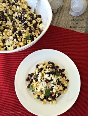White Corn and Black Beans ~ The Complete Savorist