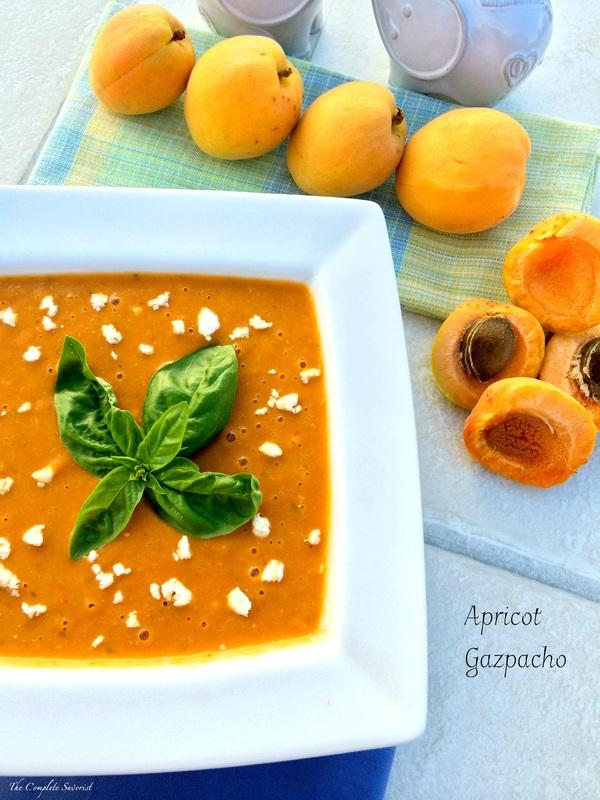 Apricot Gazpacho ~ The Complete Savorist