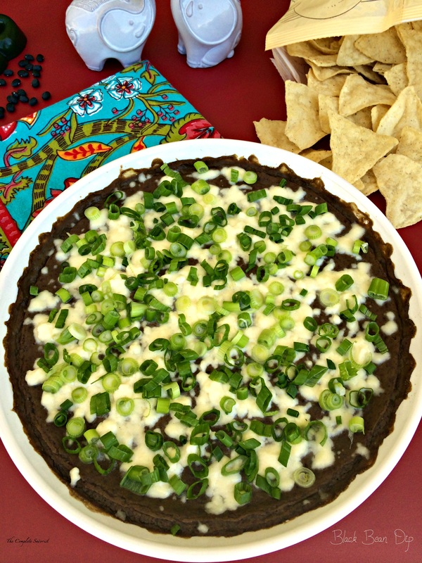 Black Bean Dip ~ The Complete Savorist