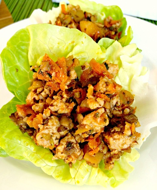 Chicken Lettuce Wraps ~ The Complete Savorist