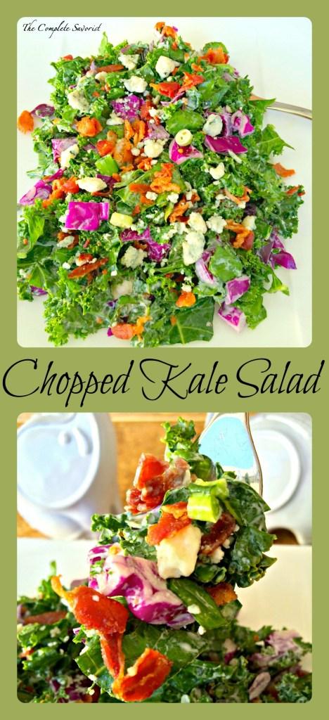 Chopped Kale Salad ~ The Complete Savorist