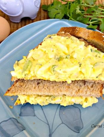 Curried Egg Salad ~ The Complete Savorist