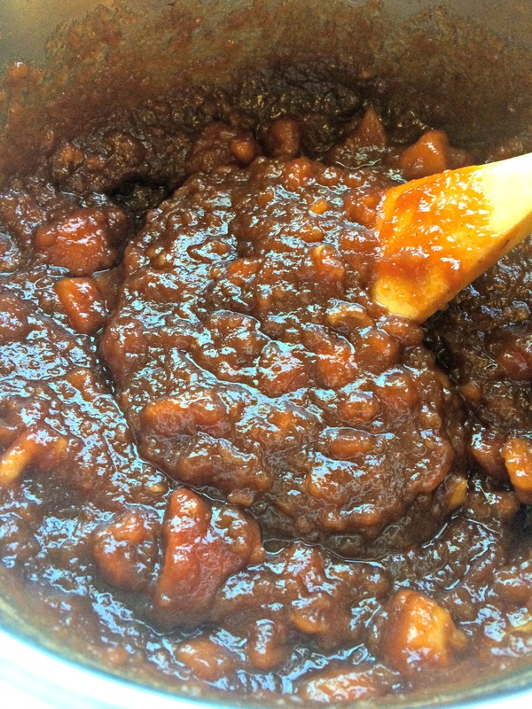 Finished Slow Cooker Apple Butter ~ The Complete Savorist