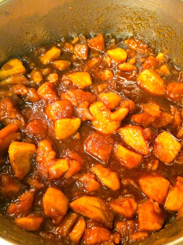 Cooking the Slow Cooker Apple Butter ~ The Complete Savorist