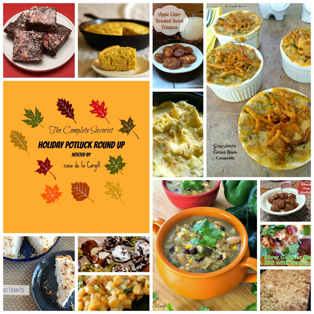Holiday Potluck Round up