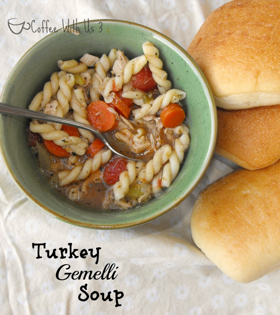 Turkey Gemelli Soup by Coffee with Us 3