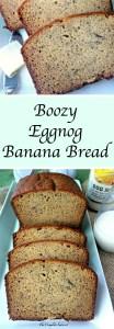Boozy Eggnog Banana Bread
