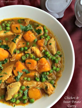 Chicken and Sweet Potato Curry ~ The Complete Savorist