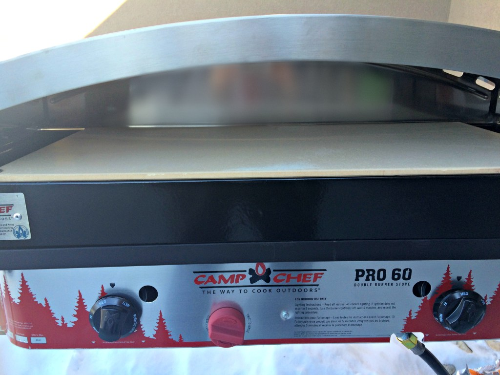 Camp Chef Pro 60 Double Burner Stove and Pizza Oven 60 Accessory