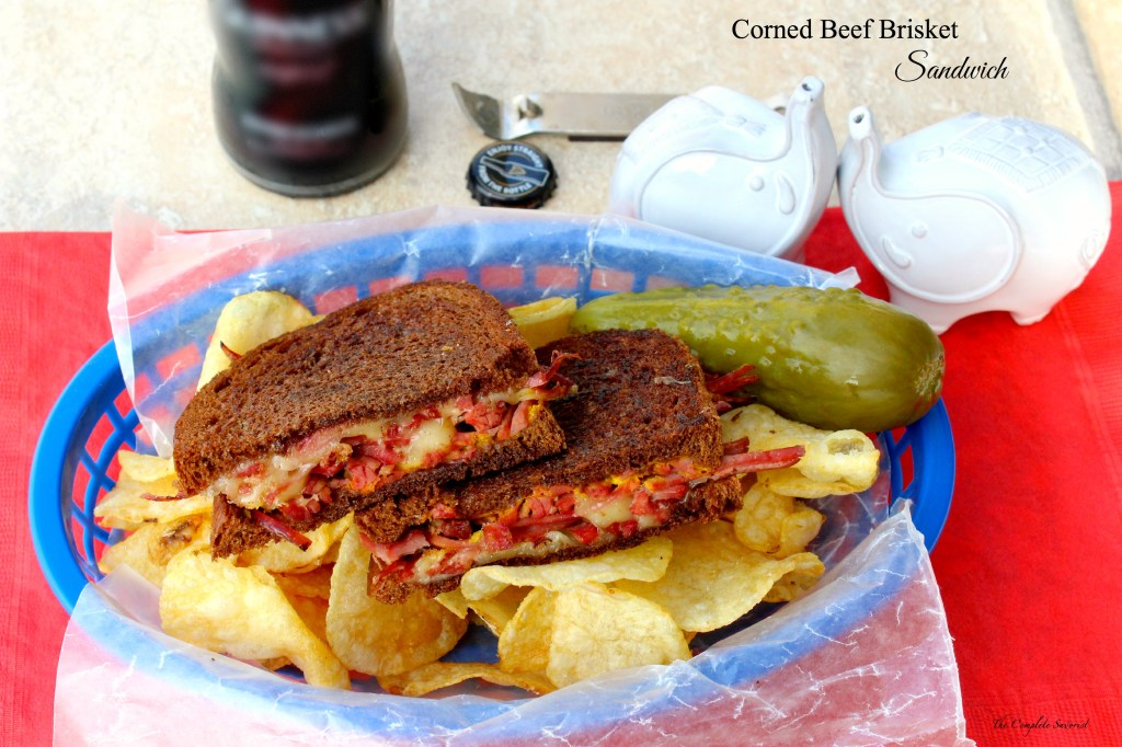 Corned Beef Brisket Sandwich ~ The Complete Savorist