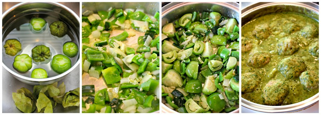 Ingredients for Pork Meatballs in Verde Sauce ~ The Complete Savorist