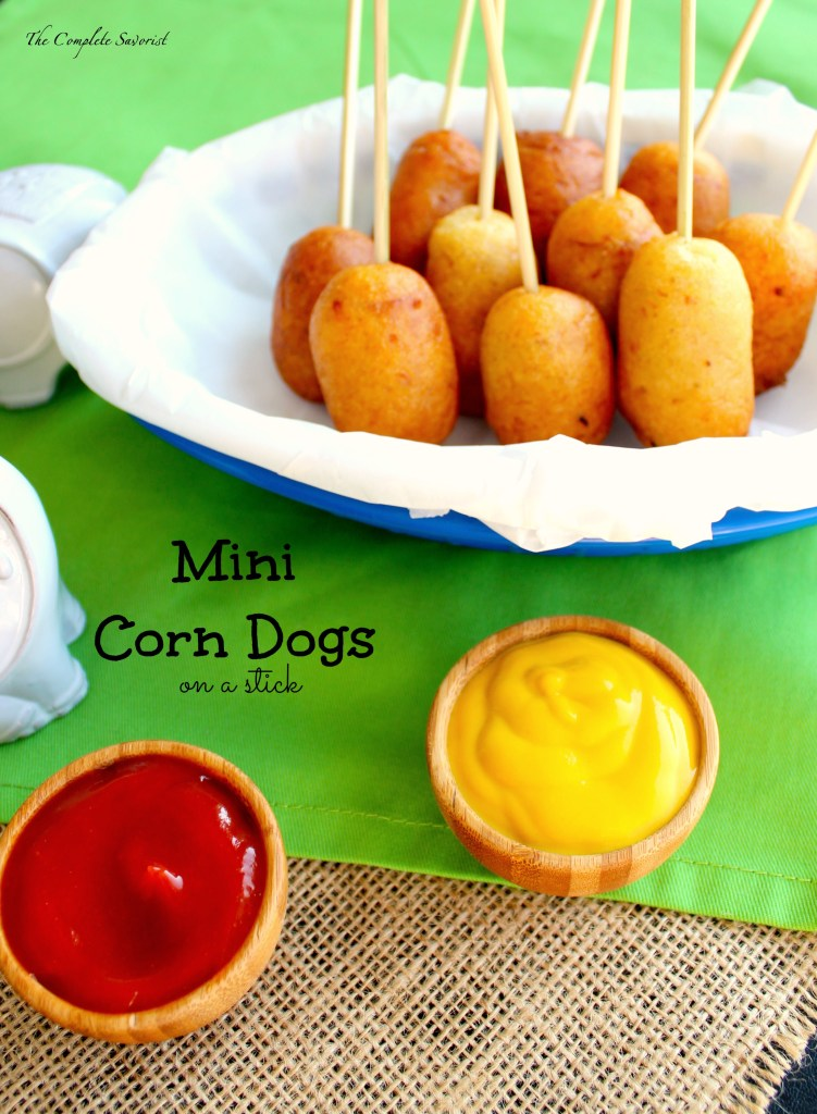 Mini Corn Dogs ~ The Complete Savorist