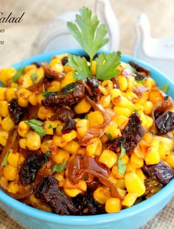 Warm Corn Salad ~ The Complete Savorist