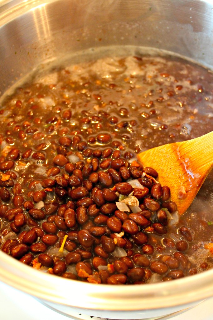 Simmering Quicker Authentic Mexican Black Beans ~ The Complete Savorist