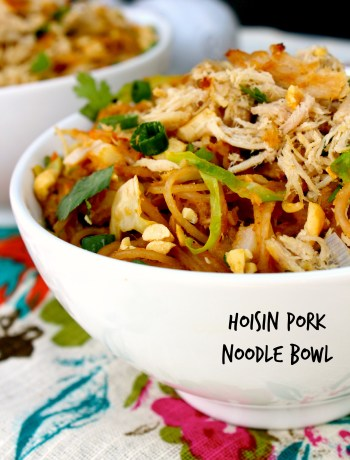Hoisin Pork Noodle Bowl ~ The Complete Savorist