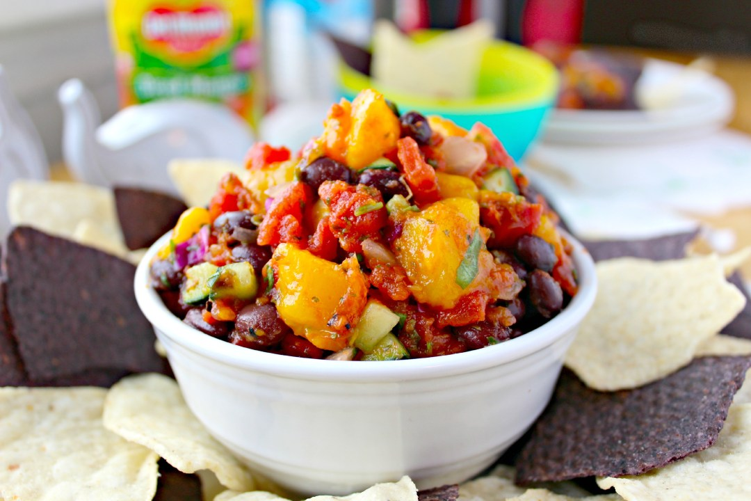 Easy Mango Salsa can be prepared and served in a matter of minutes.