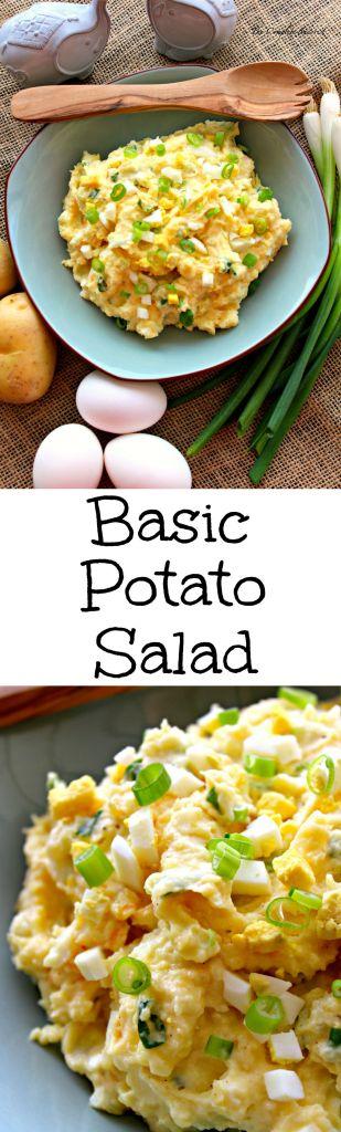 Basic Potato Salad ~ The Complete Savorist