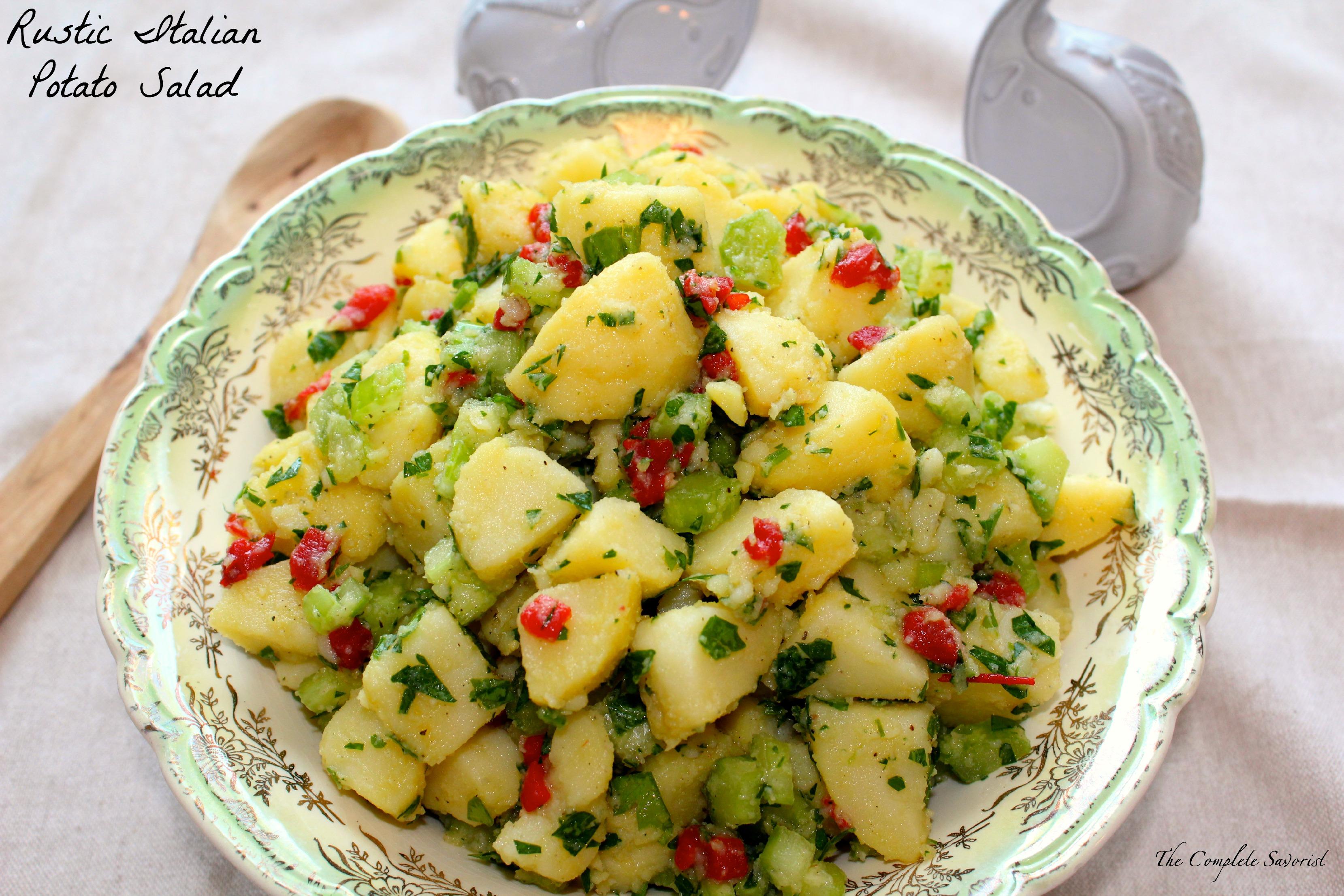 Rustic Italian Potato Salad