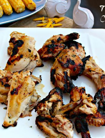 [ad] Thai Barbecue Cornish Hens ~ The Complete Savorist #JuicyGrilledCornish