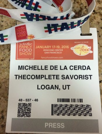 Winter Fancy Foods Show ~ Speciality Foods show in San Francisco in January 2016