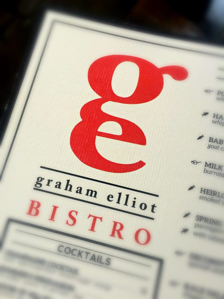 Graham Elliot Bistro, Chicago ~ The 4-Star and Celebrity Chef's signature restaurant is known for its rustically modern menu and atmosphere ~ The Complete Savorist