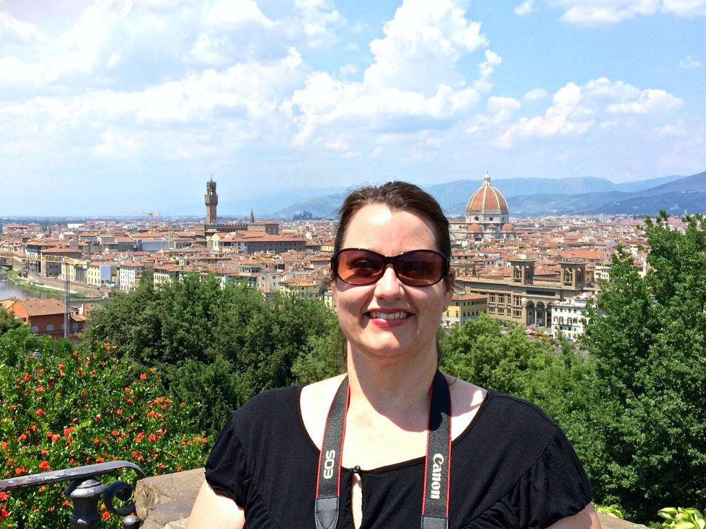 Michelle in Florence