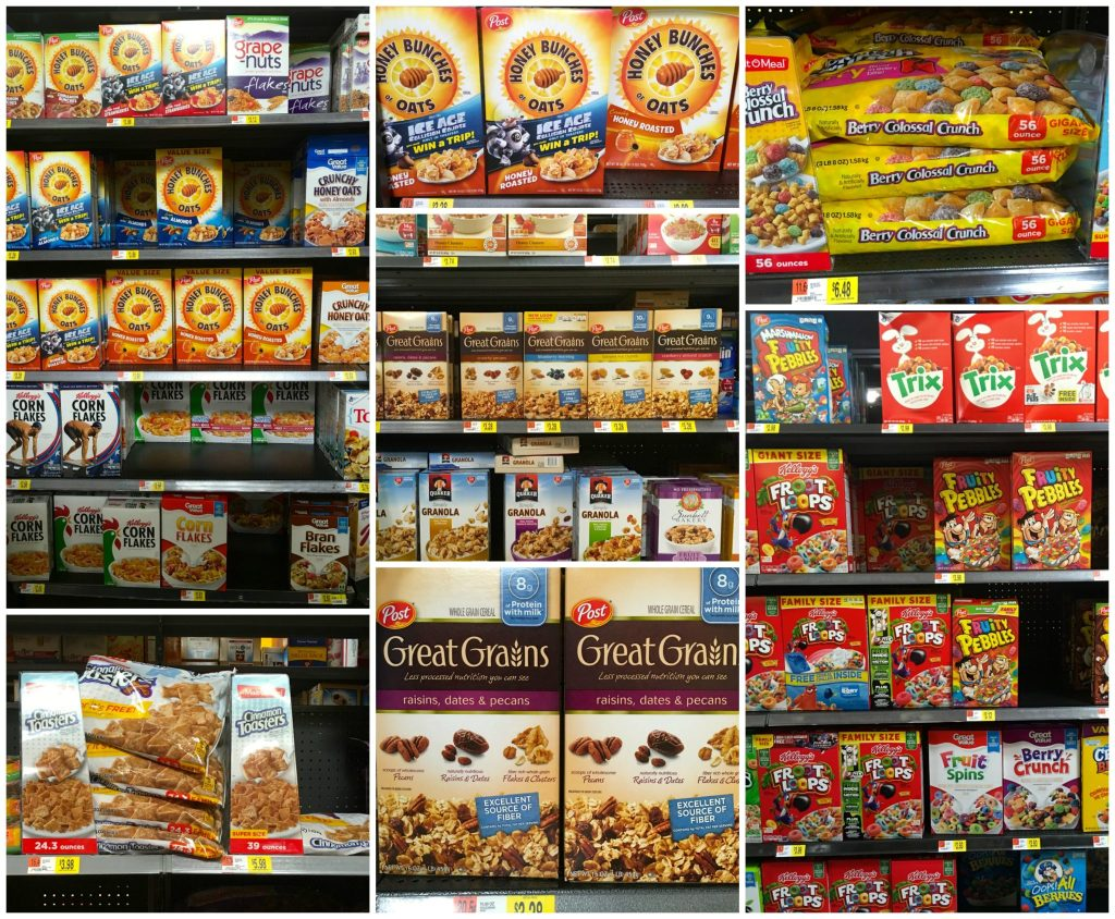 wide variety of difference cereals in their portfolio that will satisfy everyone