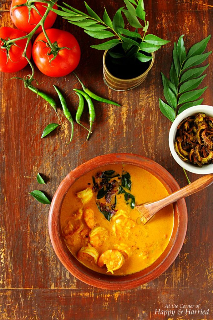 hrimp Coconut Curry by Happy and Harried