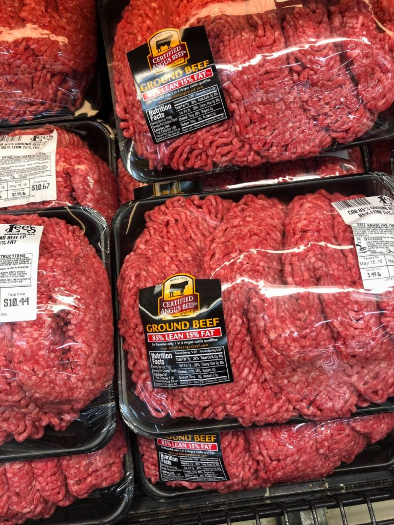 80-85% Lean Group Beef should always be used for making the juiciest burgers.