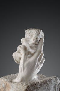 Hands are a recurring point of attention in Rodin's work. Photo from Press Photo.