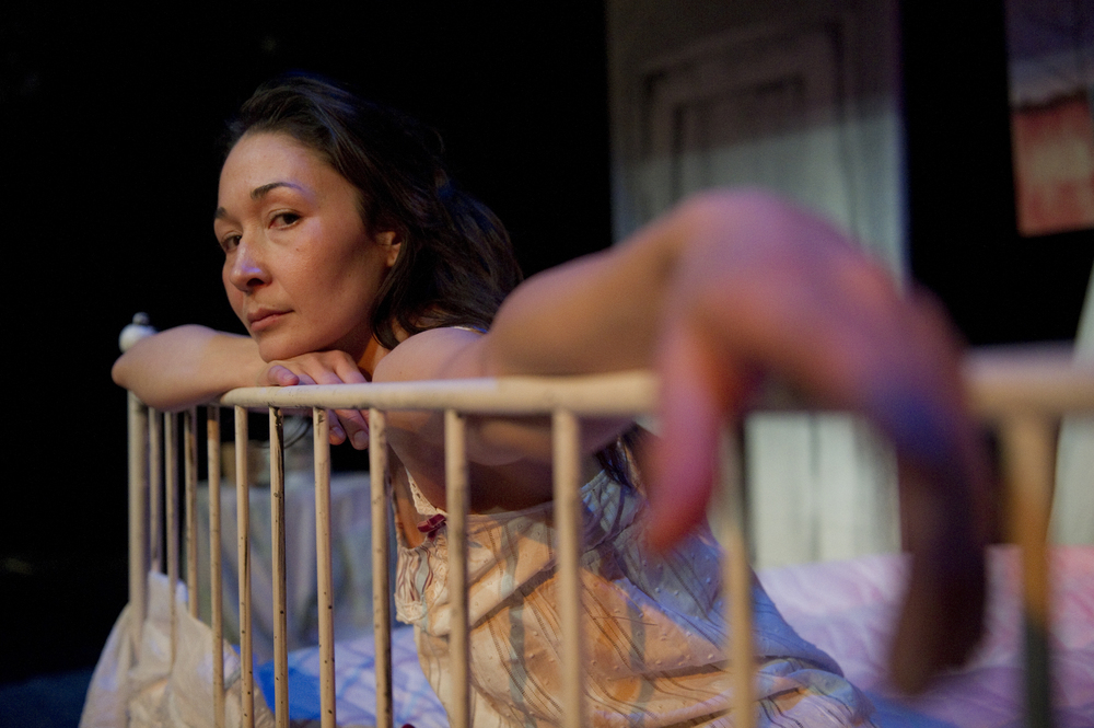 Reneltta Arluk both wrote Tumit and stars as Sarah in the English role. Photo by JProcktor Photography & Chris Randle Photography.