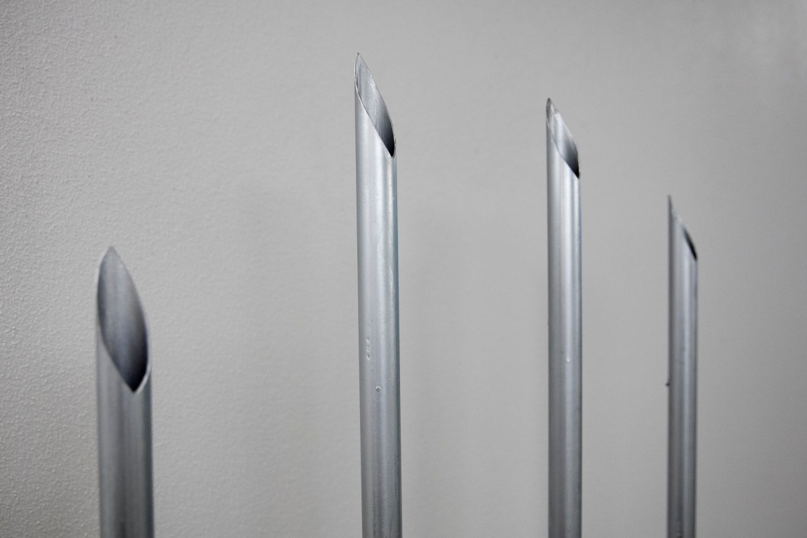 These pipes bring white noise—the everyday noise your brain usually filters out—back at you.
