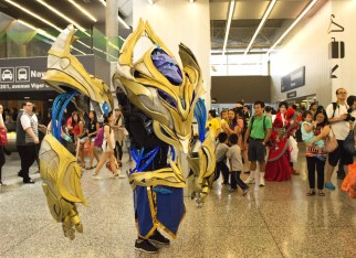 Over 21,000 people attended Otakuthon this year. Photo by Tiffany Lafleur.