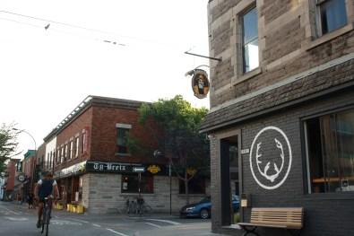 The pub sits on the corner of Rachel E and Mentana street, on the Plateau Photo by Daniel Slapcoff