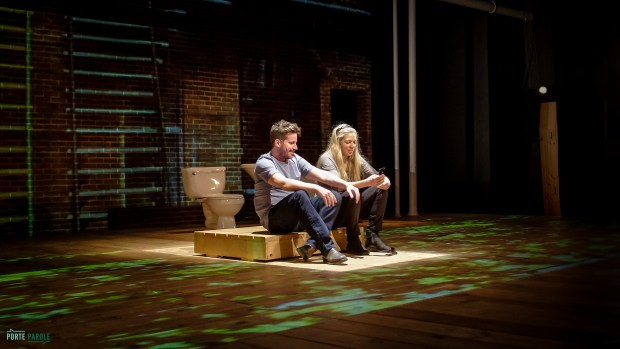 The Watershed follows playwright Annabel Soutars family as they journey across Canada to find answers about the ELA. Photo courtesy of Porte Parole Productions
