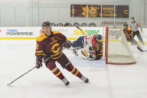 Stingers men's hockey team wins home opener 5-3 - The ...